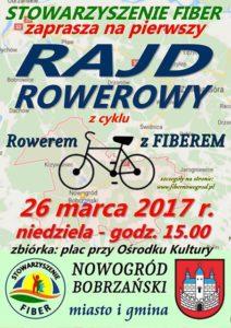"""Rajd rowerowy z cyklu """"Rowerem z Fiberem"""" @ Miejsko Gminny Ośrodek Kultury Sportu i Rekreacjiul. Pocztowa 7"""