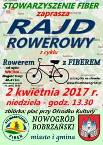 """II Rajd rowerowy z cyklu """"Rowerem z Fiberem"""" @ ul. Pocztowa 7"""
