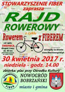 """Rajd rowerowy z cyklu """"Rowerem z Fiberem"""" @ ul. Pocztowa 7"""