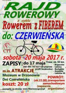 plakat rajd rowerowy