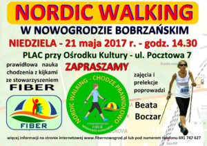 PLAKAT-NORDIC WALKING