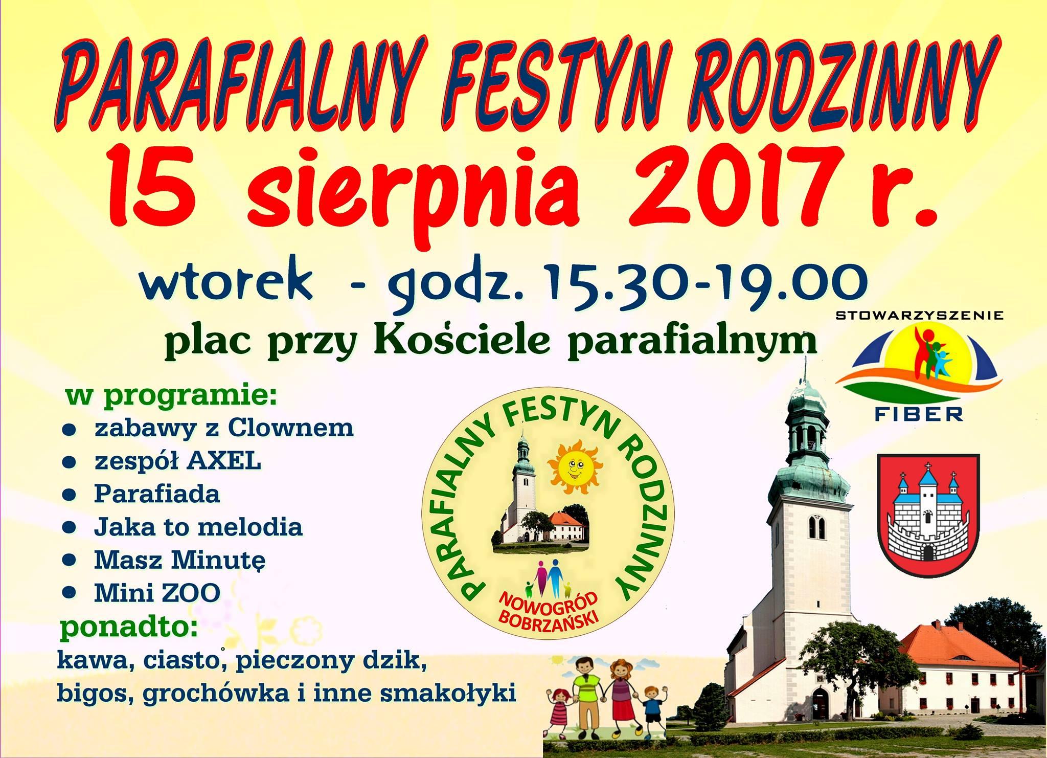 plakat festyn parafialny 2017