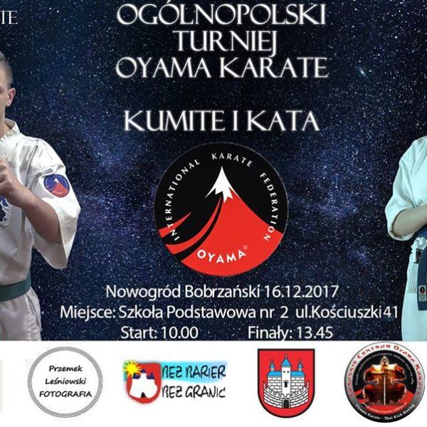 plakat turniej karate