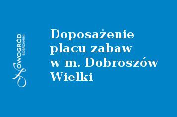 baner-dobroszow-plac-zabaw