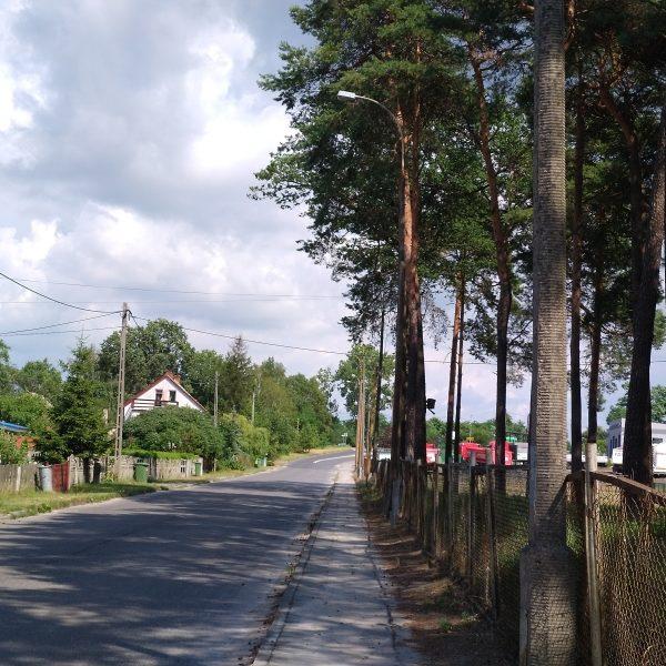 ul. Fabryczna - przed modernizacją